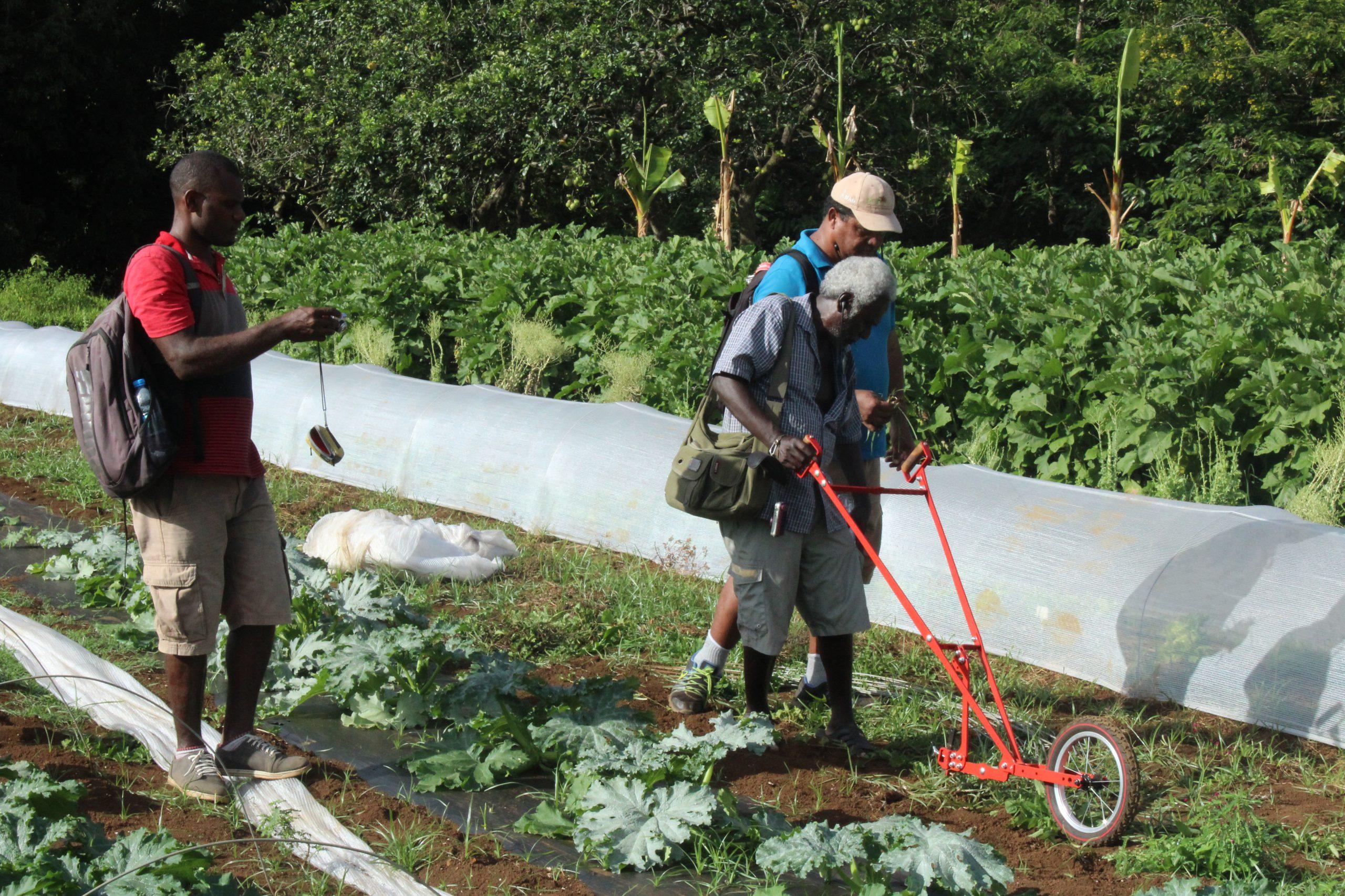 essai de matériel agricole